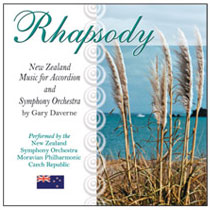 CD Cover Rhapsody