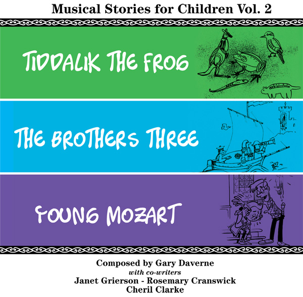 Musical Stories for Children Vol 2 CD cover